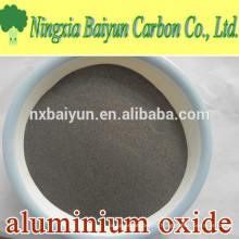 Poudre d'oxyde d'aluminium brun 80 mesh pour le soufflage et la coulée