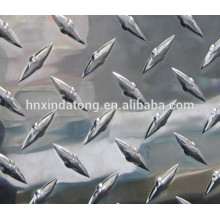 Diamond pattern aluminum plate 1060 3003 5052 5005