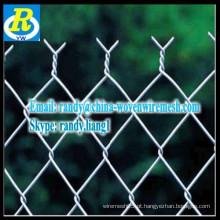 Usado cerca da ligação chain para a cerca da ligação chain do ferro galvanizado