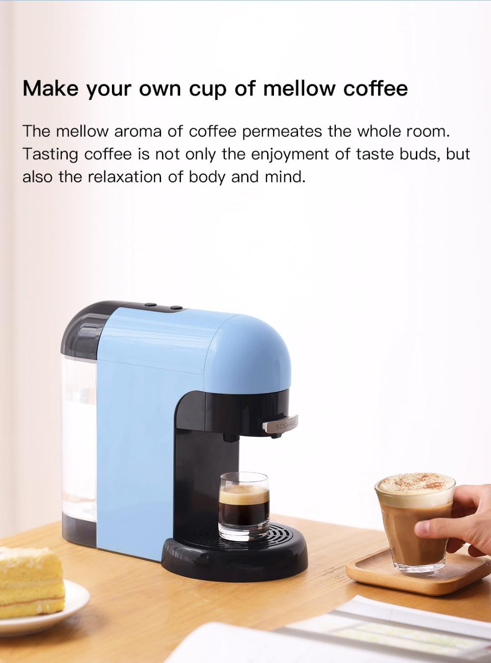 Scishare Smart Espresso Coffee Machine