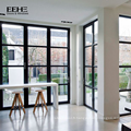 Insonorisation bon marché portes de fenêtres en verre d'aluminium