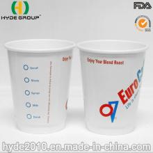 Tasse à café en papier isolée à double paroi jetable