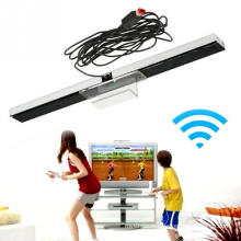 Chauds USB Détecteurs de mouvement filaire Récepteurs ABS Capteurs Barre de Récepteur Nouveau Pour Nintendo Wii / WiiU