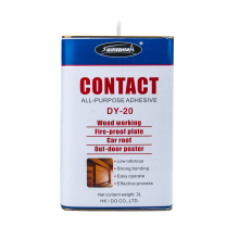 Sprayidea DY-20 Contact Polychloroprene Adhesive Decorative Boards Resistente ao calor Metal Glue
