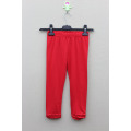 GIRL'S COTTON SPANDEX KNITTED SOLID LEGGING