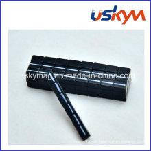 Schwarzer Epoxy-Neodym-Magnet Permanenter NdFeB Magnet