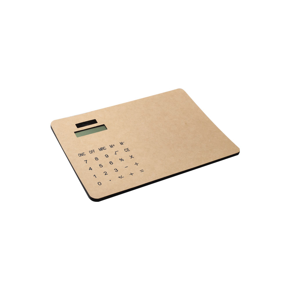Dual Power Mouse Pad Calculator, Kraftpapier-materiaal