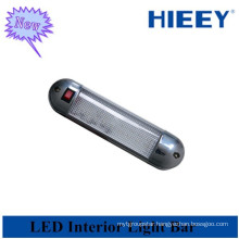 Truck use led home interior light chrome led interior light bar for caravans