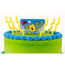 Coulorful Birthday Party Cake Candle