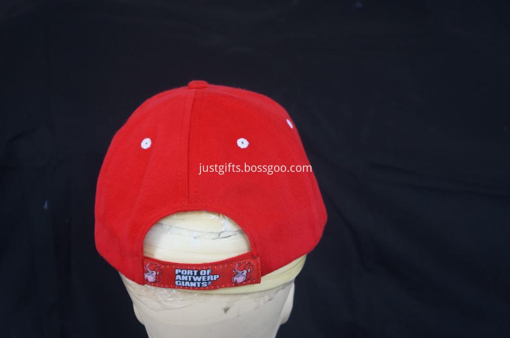 100% Acrylic Custom Logo Constructed Cap