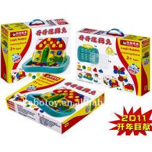 Logic Coelho brinquedos de plástico de educação para crianças brinquedos de plástico para crianças