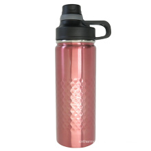 Outdoor Stainless Steel Vacuum Auto Mug with Screw Lid