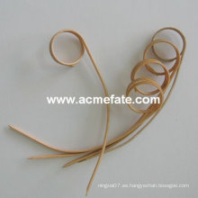 Palitos de bambú anudados flexibles de la comida sana de calidad superior