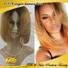 Most popular short wavy blonde full lace wig