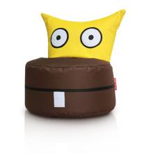 Cadeira de saco de feijão animal em tecido 600D