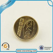 Moneda de desafío personalizada de fábrica con color de esmalte