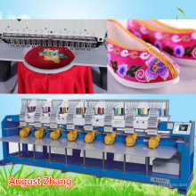 Elucky high speed multi heads embroidery machine to Nigira for cap embroidery