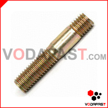 Double End Stud Yellow Zinc Plated