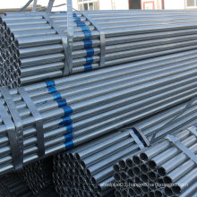 New Stock of Galvanized Steel Pipes for Construction