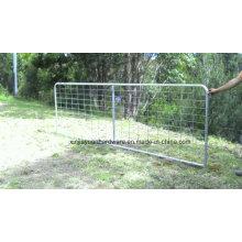 Valla de malla de alambre galvanizado / Panel de ganado