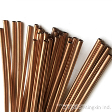 Double Wall Steel Tubes SAE J526b Coated with Copper Used for Automobiles, Refrigerator, Hydraulic Systems etc