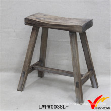 Rustic Old Shabby French Chic Wood Farmhouse Tabouret de cuisine