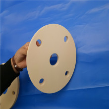 Customized Alumina Ceramic Flange With Ring For Insulating