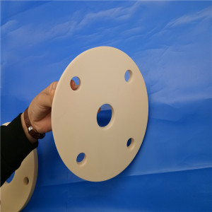 Insulating Ceramic Thread Round Plate / Ceramic Disc