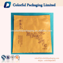 top sale matt finishing custom printed empty foil bag for facial mask