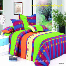100%Polyester Pigment Printing Brushed Bedding Sheet Fabric for Home Textile