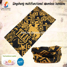 Wholesale tube mask seamless tube scarf digital printed bandana custom