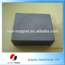 """Y30 Strong block 2""""x4""""x1"""" ferrite Magnets"""