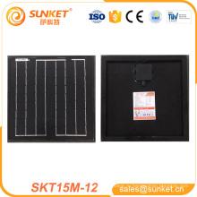 лучшие price12v 15 Вт моно панели солнечных батарей 12V 15W солнечная панель 12V панель солнечных батарей 15W с сертификаты TUV ИСО CE с CE TUV в
