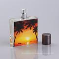 Garrafas de perfume de vidro originais da impressão de tela