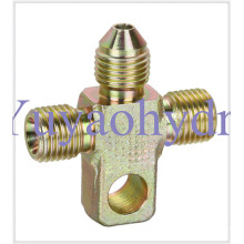 Forged Cross Body Special Hydraulic Tube Connector