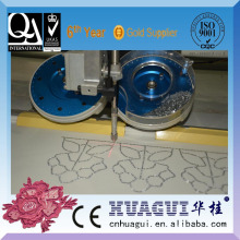 HUAGUI hot sale single head two color hotfix stone machine setter equipment