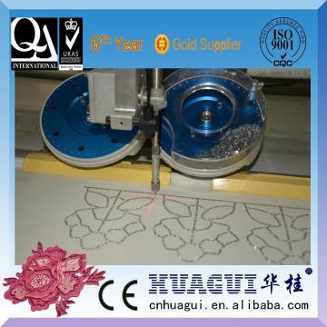 HUAGUI hot sale single head two color hotfix stone machine setter equipment