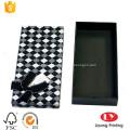 boîte de cadeau d'emballage cravate papier personnalisé