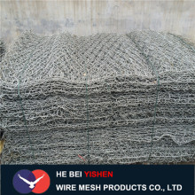 Good Hot-dipped galvanized Triple Twist Gabion Mesh