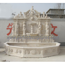 Fontaine murale en pierre pour fontaine d'eau de jardin (SY-W151)
