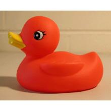 OEM suave caucho patos de juguete para los niños