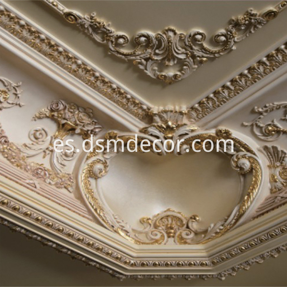Big Size Polyurethane Decorative Cornice