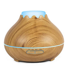 Quiet Wholesale Ultrasonic Wooden Aroma Diffuser 150ml