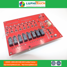 Online Manufacturer for Multicolour Display Module PCB Brooks Red Color PCB Circuit Board Assembly PCBA supply to Indonesia Suppliers