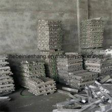 Lingots d'alliage d'aluminium de haute pureté