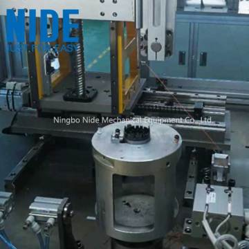 BLDC  motor stator coil needle winding machine