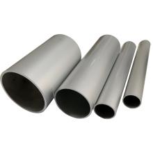 Tubo redondo de aluminio anodizado extruido tubo
