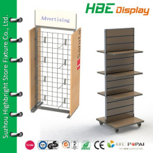 MDF cheap wooden shelf for store