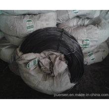 Alambre de acero recocido negro para el embalaje del algodón