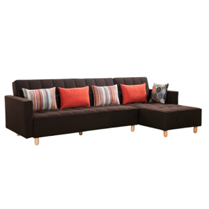 Folding Fabric Futon Daybed Chaise Bäddsoffa
